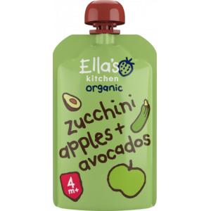 ellas kichen zucchini æbler og avocado