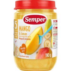 semper frugtmos mango banan