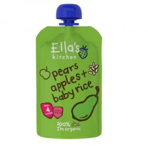 Ellas kitchen ammenam pærer, æbler og babyris