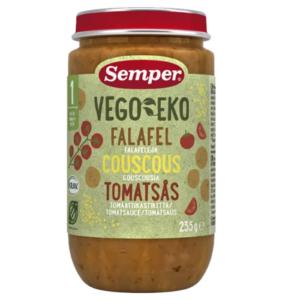 Semper Vego EKo Falafel med couscous og tomatsauce Ammenam