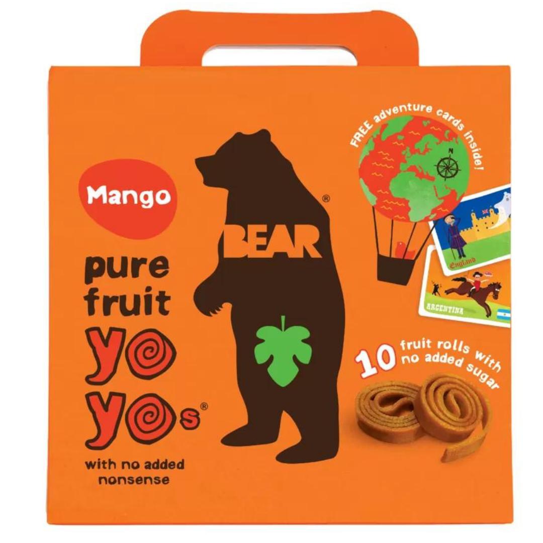 Bear Yoyo mango multipak (5x20 g) - ammenam.dk
